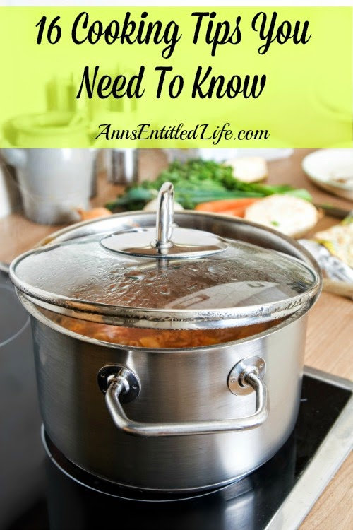 16 Cooking Tips You Need To Know