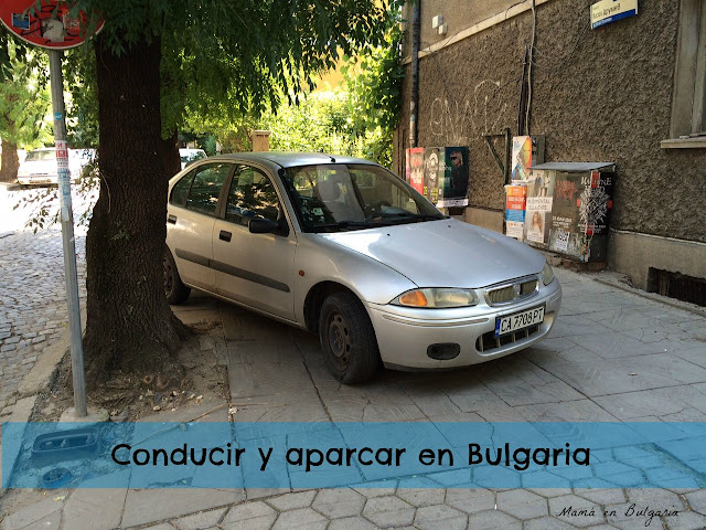 Conducir y aparcar en Sofía, Bulgaria