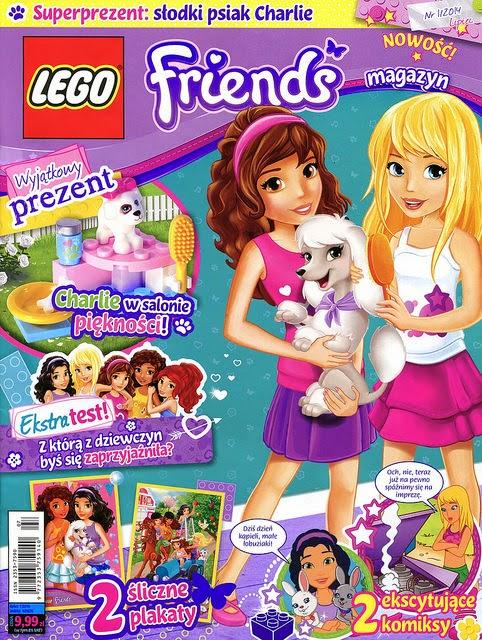 Heartlake Times LEGO Friends Magazine