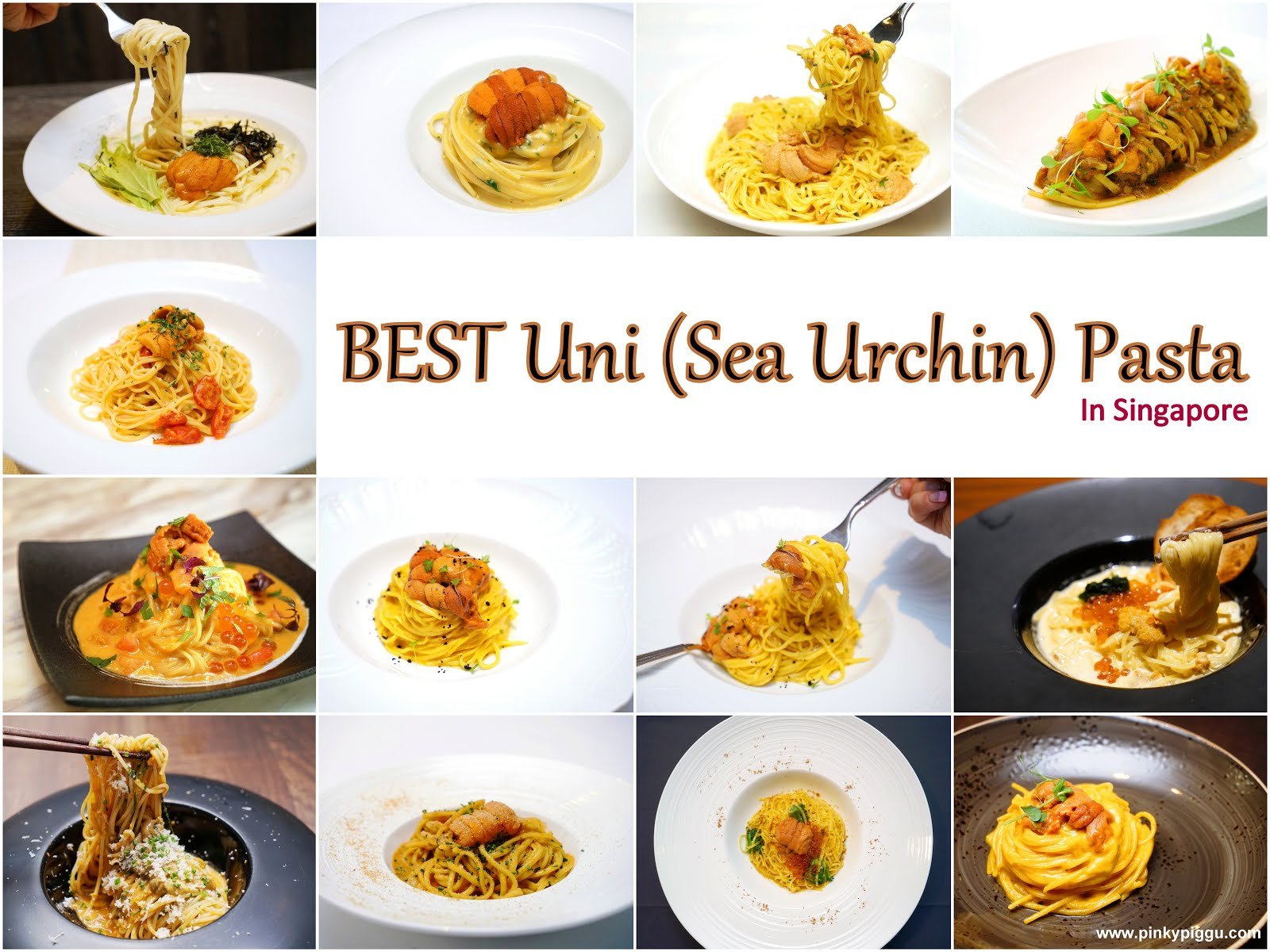 BEST Uni (Sea Urchin) Pasta In Singapore!