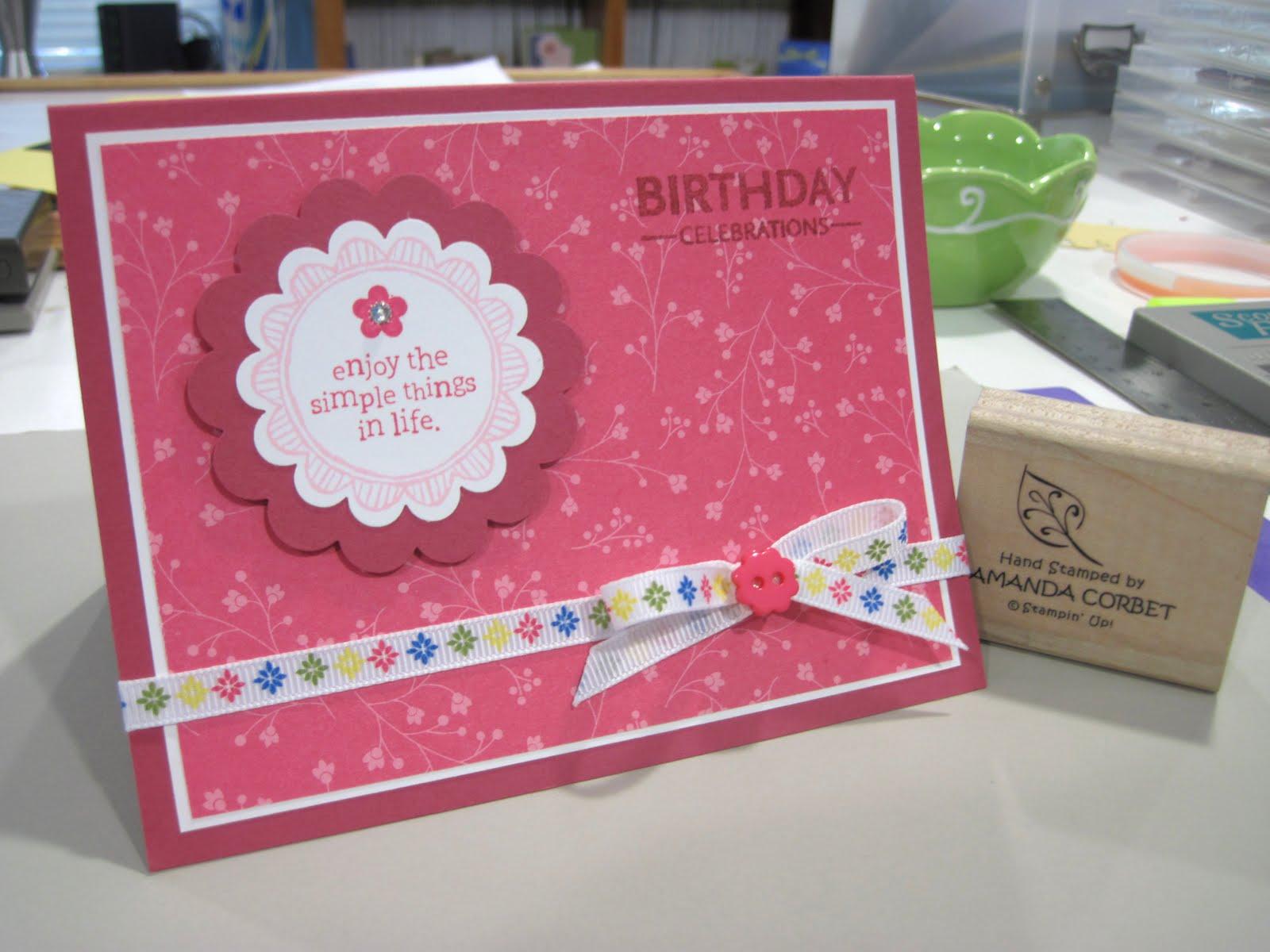 Very Pink Birthday Celebration
