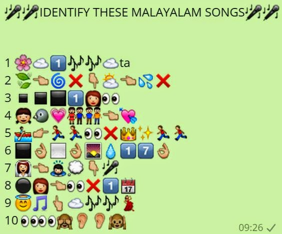 Identify these Malayalam Songs
