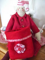 Felt Santa Sack Tutorial