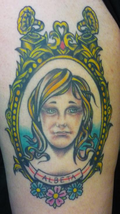 Para mi verito!! Tattoo curado