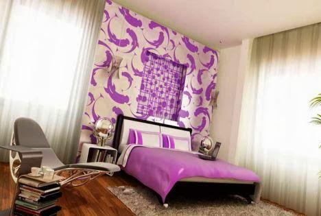 Không gian đẹp nhờ giấy dán tường 13