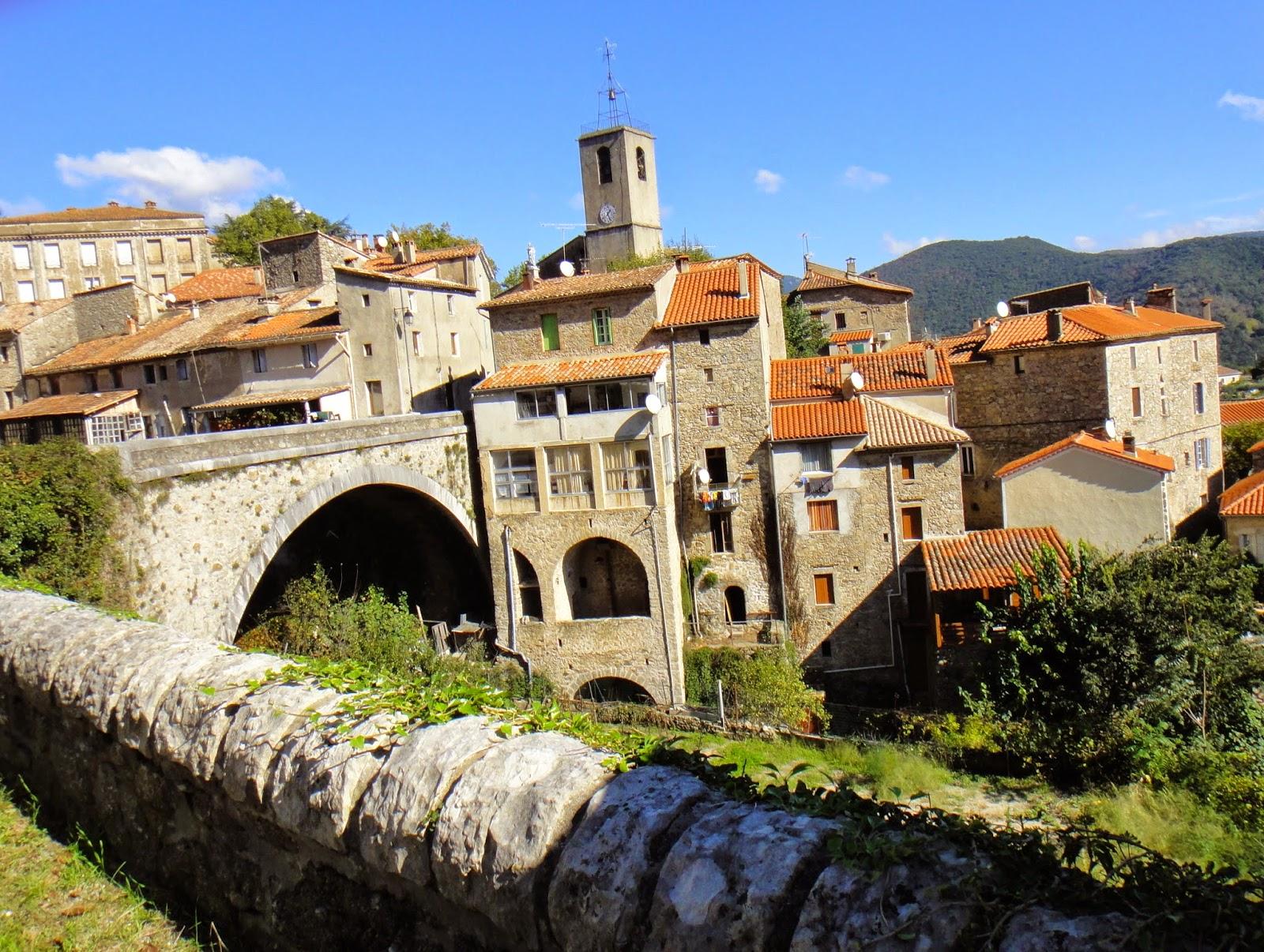 St Bloggie de Riviere Walks in the Cevennes Sentier des Rouquis