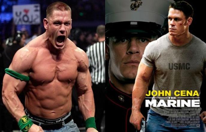 John Cena un actor y luchador de la WWE en sus más recientes producciones cinematograficas