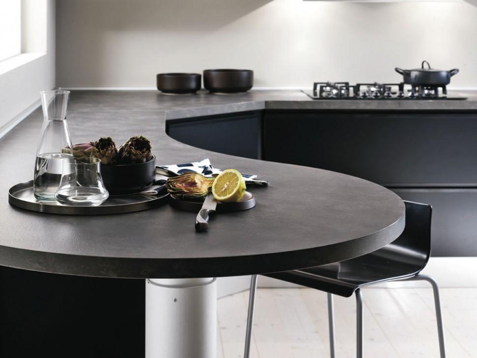 Una mesa para la cocina dise ando un lugar m s sociable - Cocinas con mesas ...