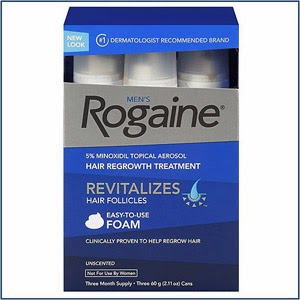 picture about Rogaine Printable Coupon identify Totally free Rogaine at Ceremony Support with Deliver Inside of Rebate! Loudoun