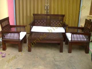 Set kursi meja minimalis kepang jepara