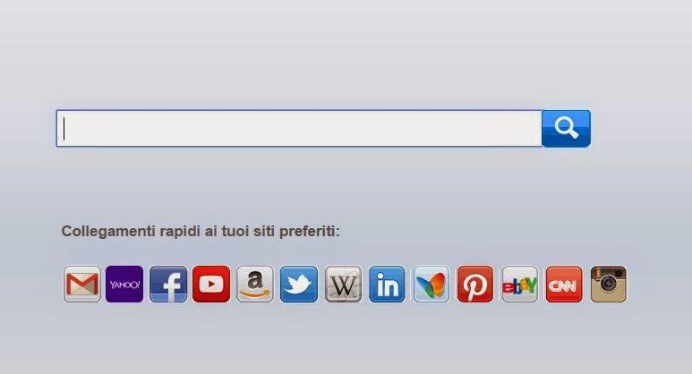 rimuovere Search.MyWay.com da pagina iniziale