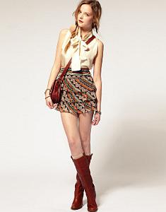 Faldas; Diseños Juveniles
