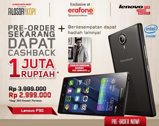 Lenovo P90 Harga Promo Preorder Rp 2.999.000