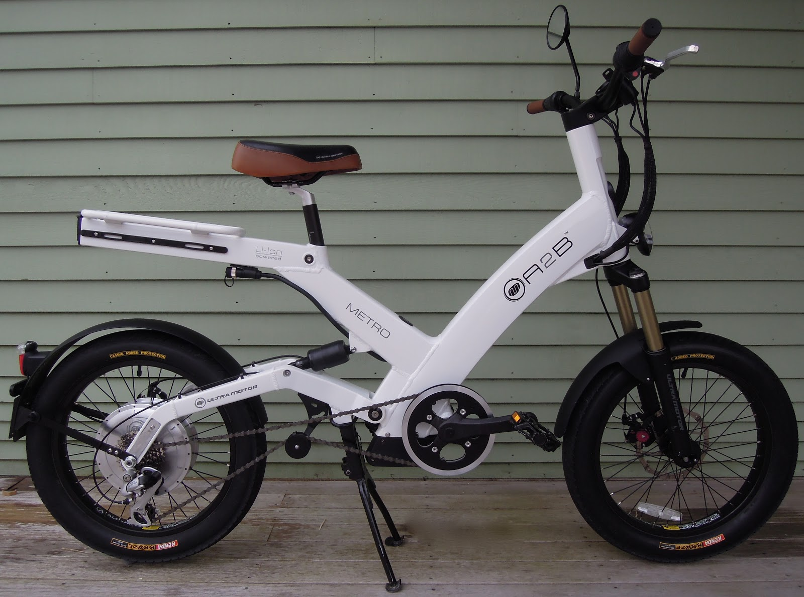 Frame and Wheel Selling Services: 2012 Ultramotor A2B Metro electric ...