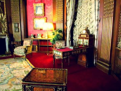 Waddesdon Manor, Rothschild, Baron Ferdinand de Rothschild, National Trust, UK, England, visit, property, tourist, interior, inside, old, vintage, drawing room, study, Marie Antoinette, French, royal family