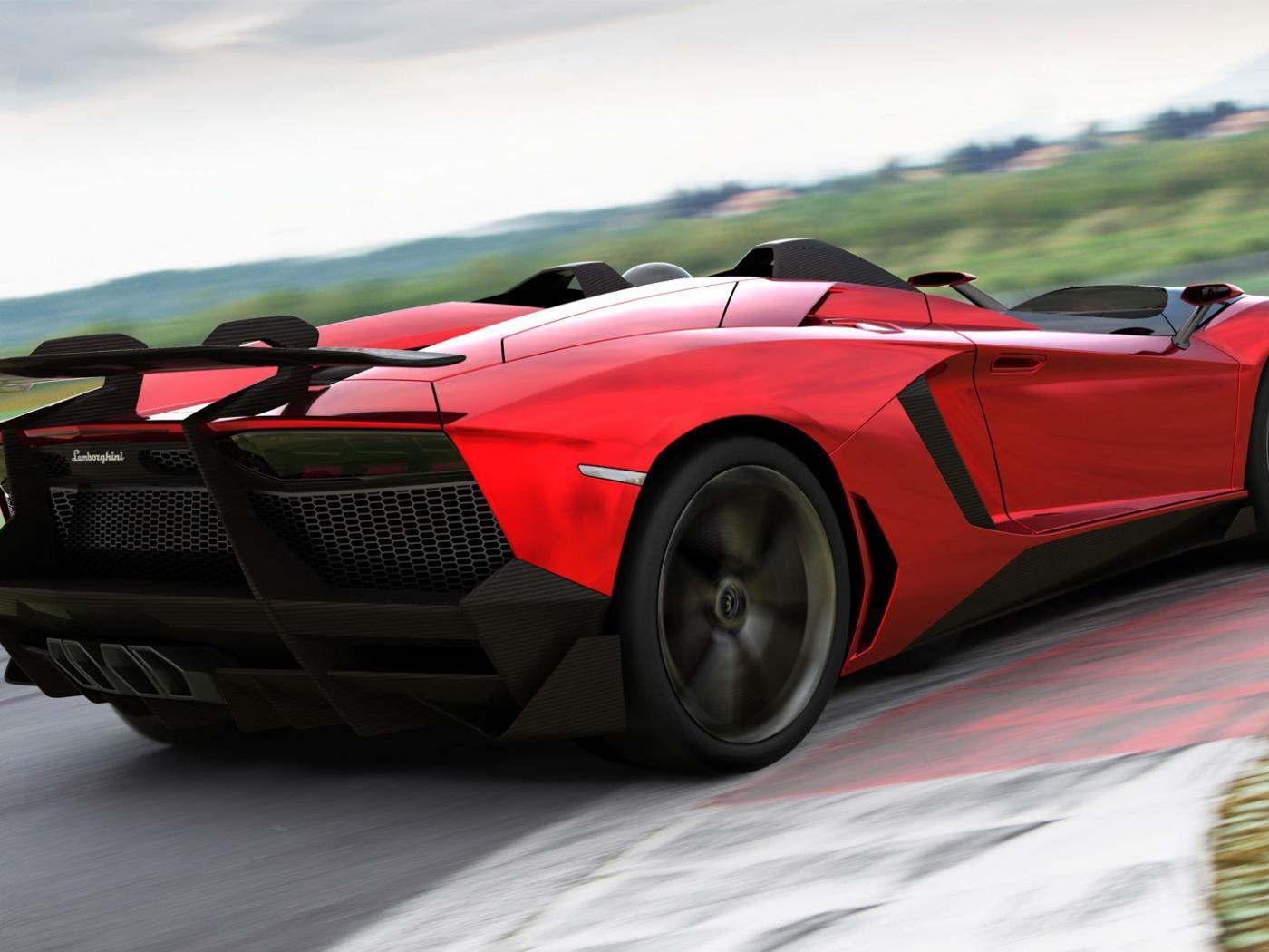 Lamborghini Aventador J Concept (2012) - Auto Cars Concept