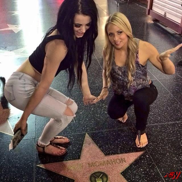 Paige and Emma Enjoying Hollywood.