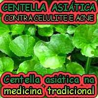 Centella asiática contra acne