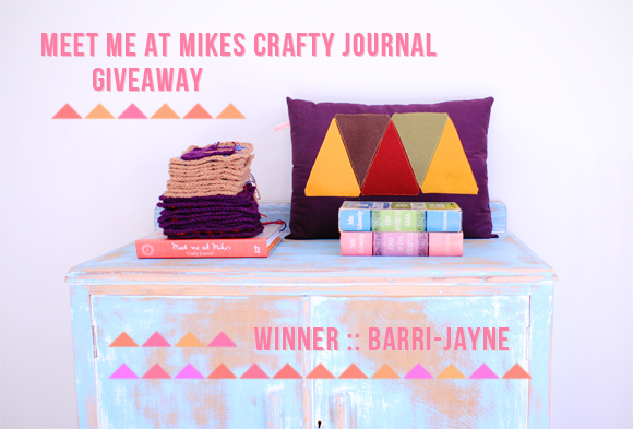 craft journal giveaway