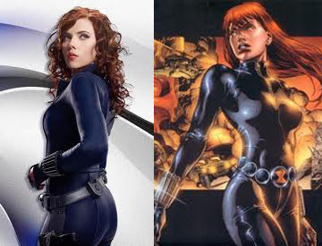Scarlett Johansson as Black Widow Natasha Romanov