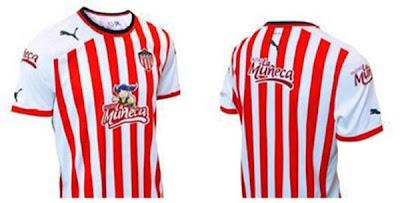 nueva camiseta de junior 2012 y 2013