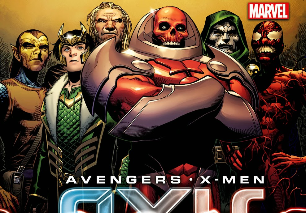 Avengers & X-Men: AXIS - First Look