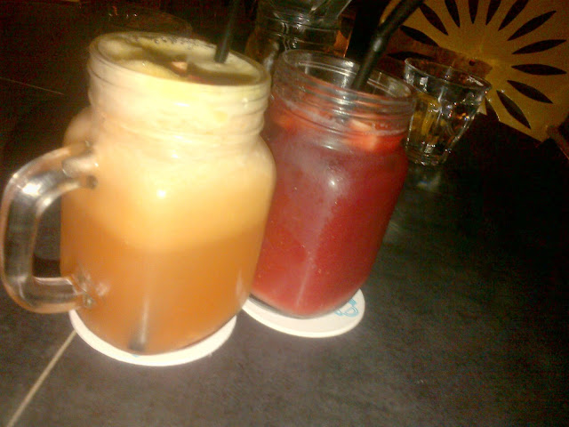 Jamjar Drinks Menu