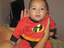 "Our little ""Mr Incredible"""