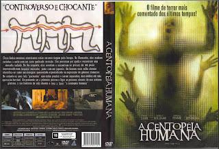 Capa DVD A Centopéia Humana