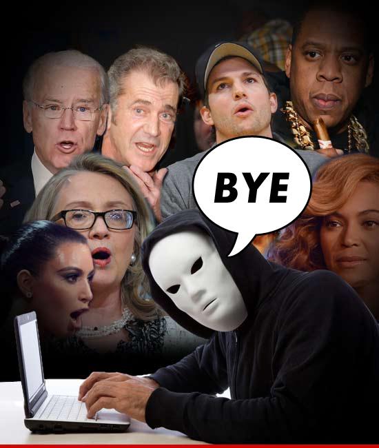 Celebrity hackers