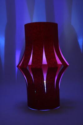 Como hacer una lámpara de papel