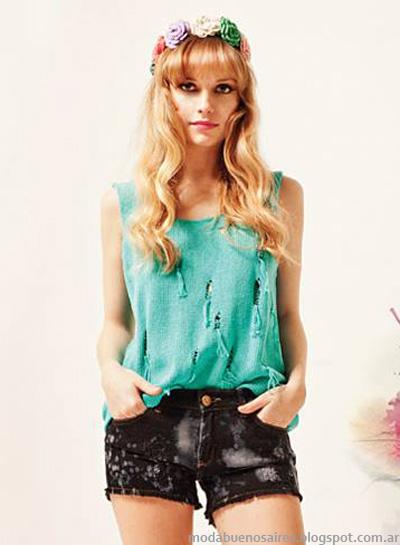 Ropa tejida moda 2014 Florencia Llompart.