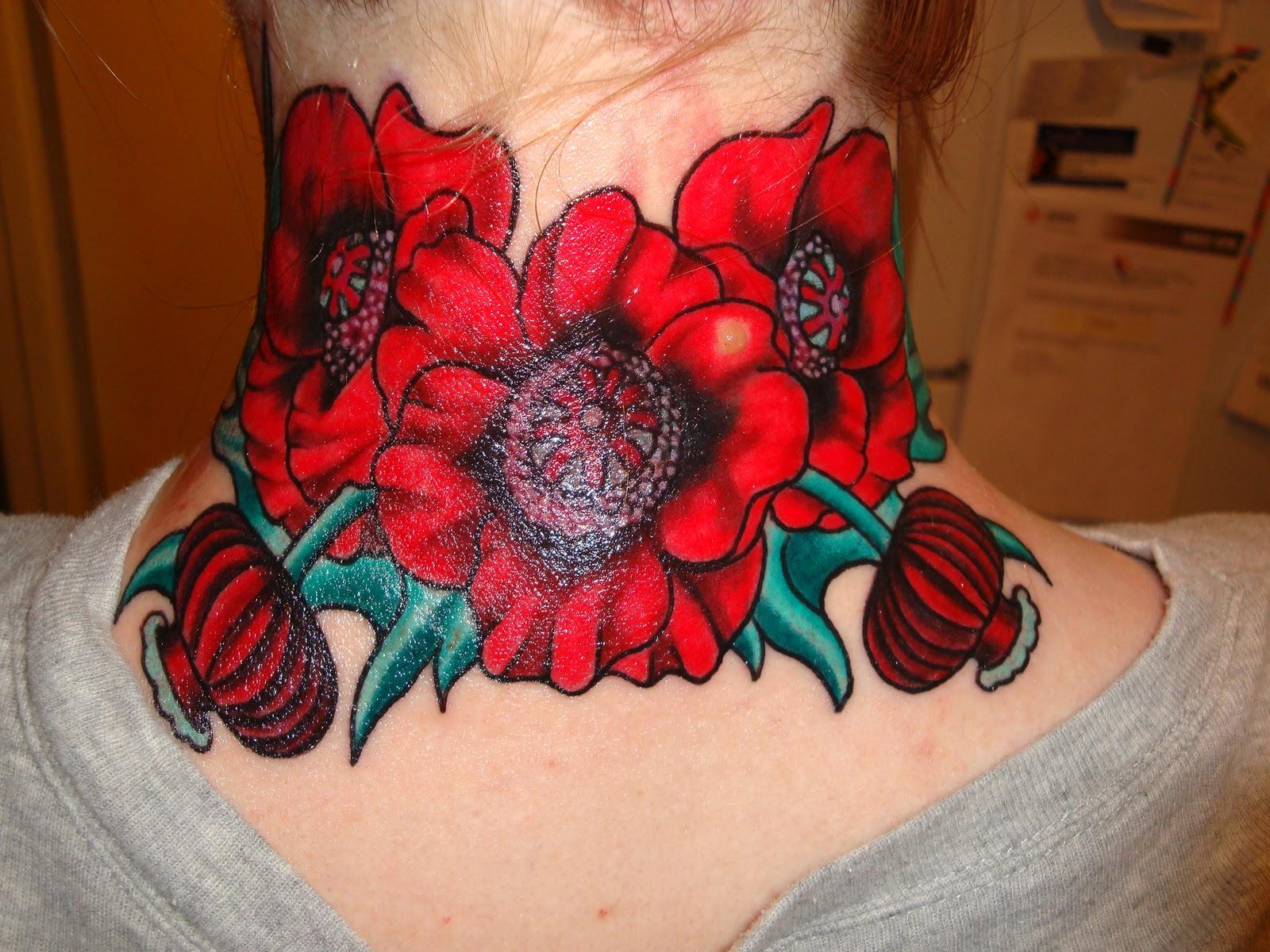 Best Tattoos For Men Poppy Tattoo