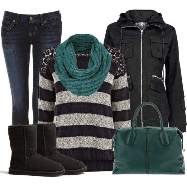 Warm And Cozy Polyvore Combinations For The Winter  See more http://worldcutefashion.blogspot.com/