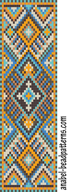 схемы бисероплетение браслет узор фенечки