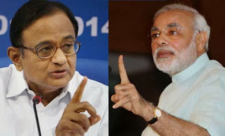 Finance Minister P Chidambaram charged Gujarat Chief Minister Narendra Modi with staging a 'fake encounter with facts'