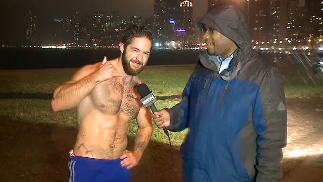 Shirtless Jogger Flooded With Date Requests After TV Interview