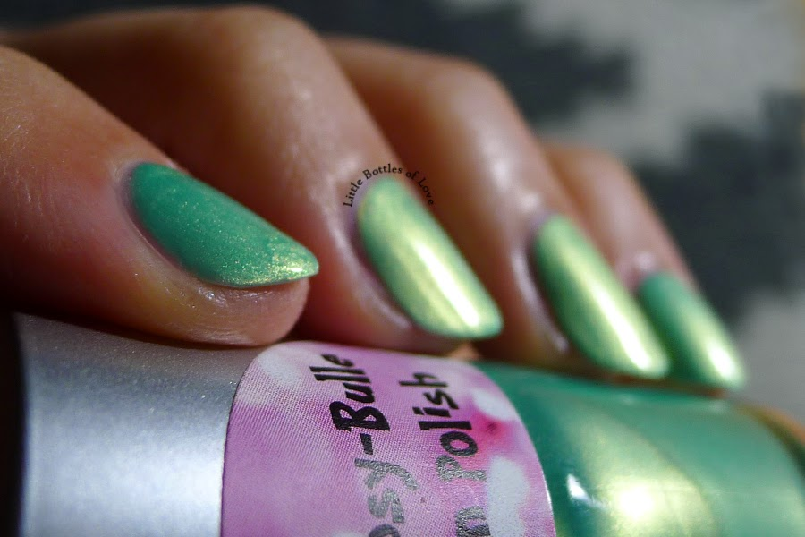 PinkDipsyBulle - Golden Apple Swatch