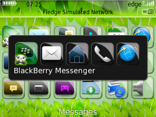 Compatible: BlackBerry Curve 8520, 8530, 9300 OS 5.0