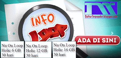 cara daftar harga paket internet simpati loop terbaru