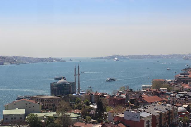 İstanbul Ortaköy manzara