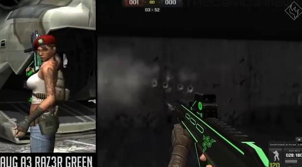 Point Blank Hileleri Yeşil Silah Skinleri indir   Download