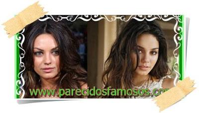 Mila Kunis con Vanessa Hudgens