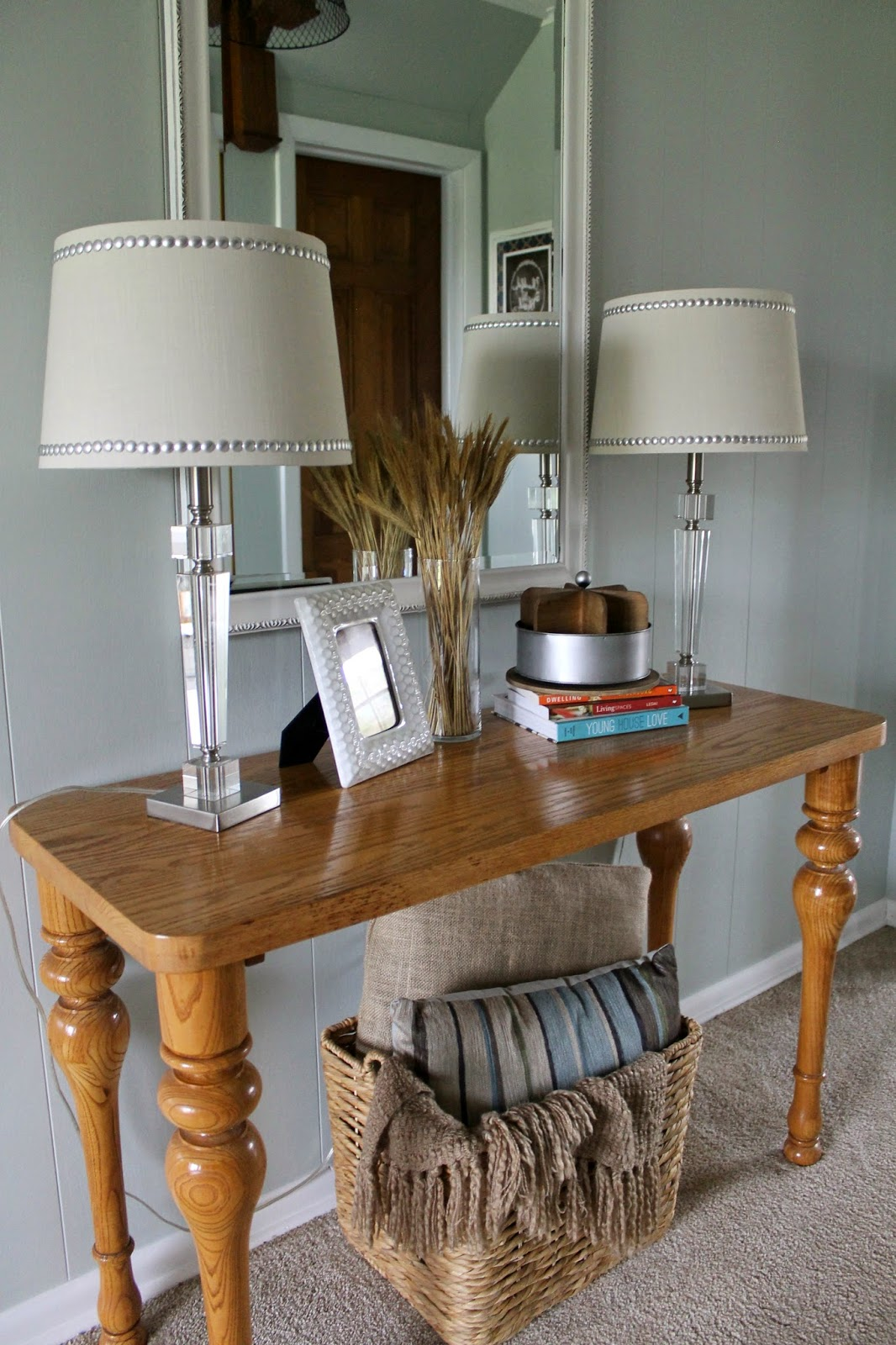 Grace lee cottage decorating our foyer - Table vitroceramique 3 foyers ...
