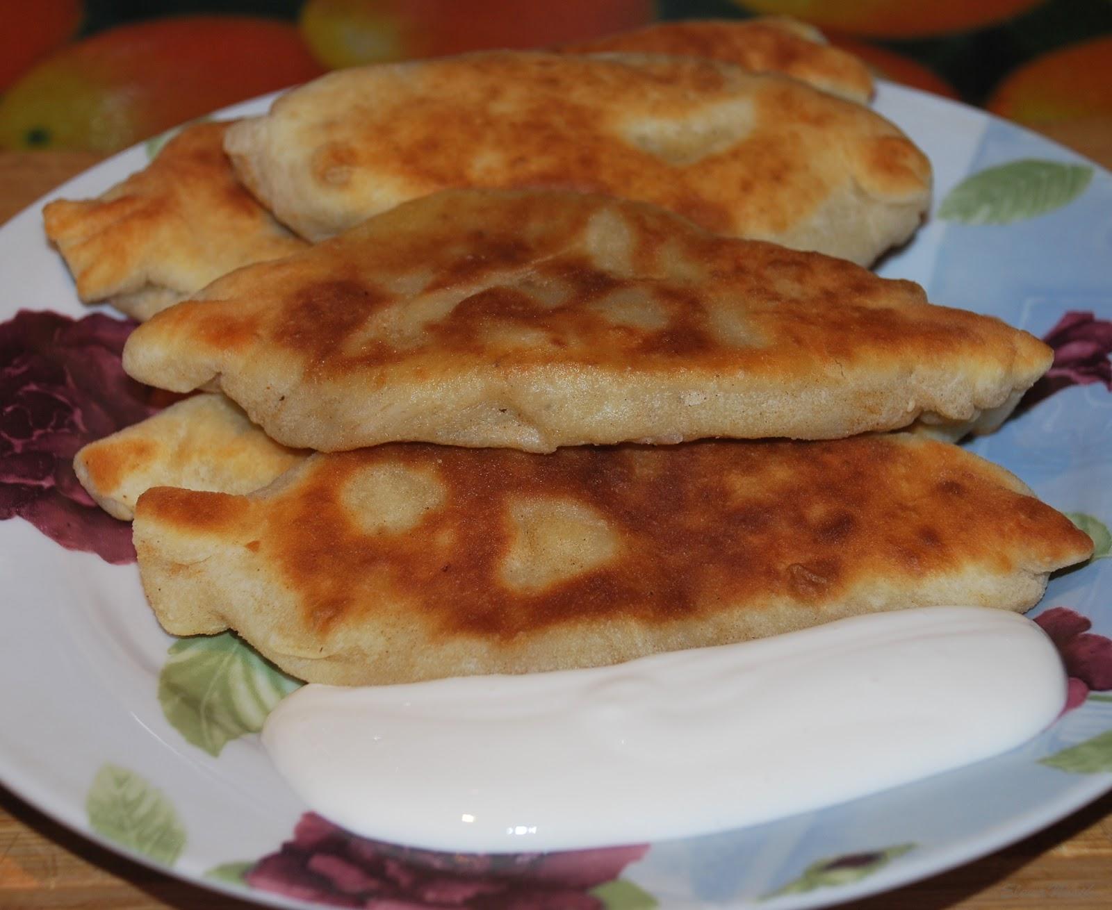 Пирожки с картошкой пошаговый фото