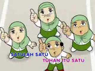Gambar Kartun Anak Islami