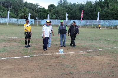 Turnamen Sepakbola Antar Kecamatan Meriahkan Harjad Kotabaru