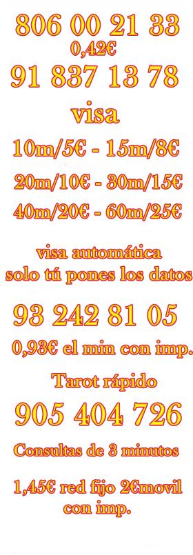 CONSULTAS DE VIDENCIA Y TAROT ECONOMICO