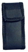 Black stun gun holster for the powerful Li'l Guy stun gun with 7.5 Million volts.