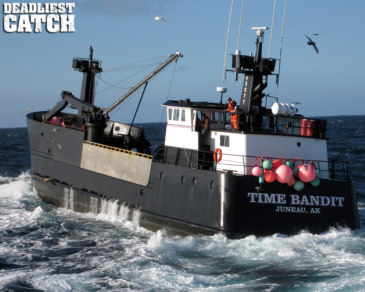 Time Bandit in the Deadliest Catch is using Beam Oceana 800 FleetPhone    Deadliest Catch Time Bandit
